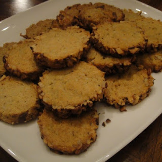 Stilton and Walnut Crackers.