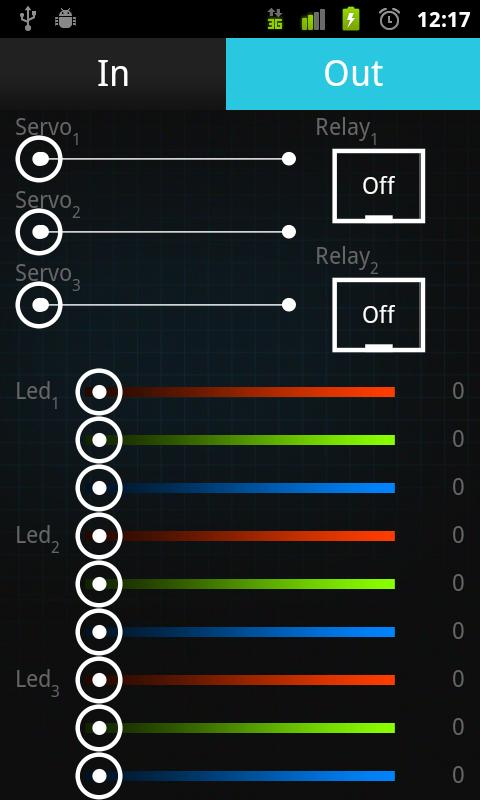 Standard Android ADK Demo Kit- screenshot