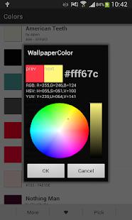 玩程式庫與試用程式App|Color Wallpaper & Pick Color免費|APP試玩
