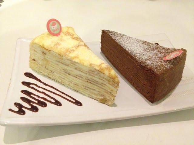 Rum Raisin Layer Cake
