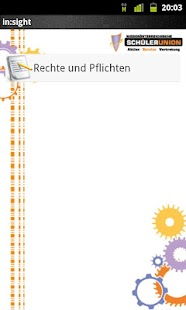in sight die Schulrechts APP - screenshot thumbnail