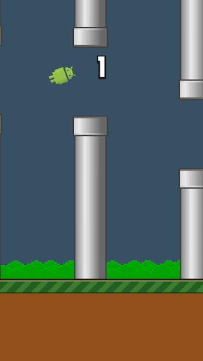 【免費休閒App】AndroBird - Flapping Android!-APP點子