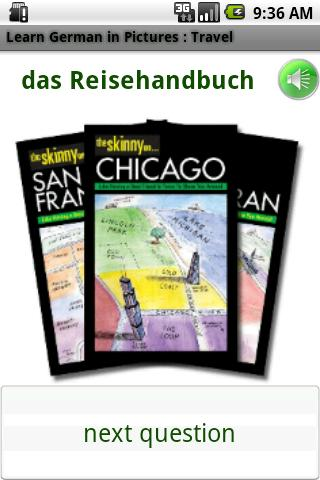 German in Pictures: Travel- screenshot