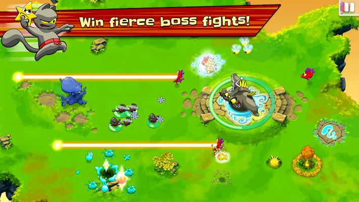 Ninja Hero Cats Premium - screenshot