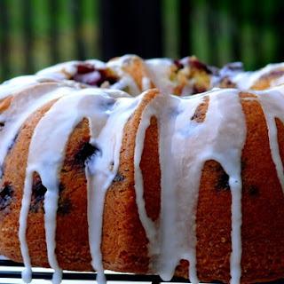 Blueberry-Lime Pound Cake