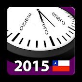 Calendario 2015 Chile