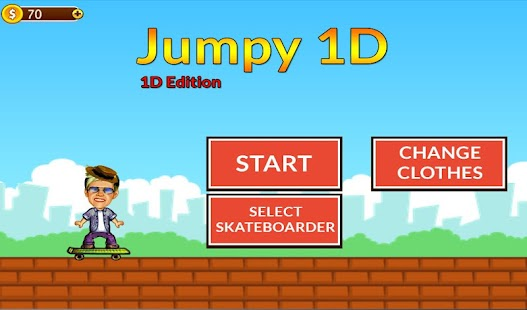 Jumpy 1D - One Direction Game