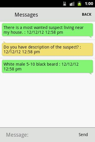 Clearwater PD Tips - screenshot