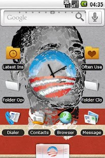 HD Obama Artwork Theme - screenshot thumbnail