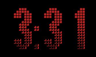 Screenshot of Desk Clock