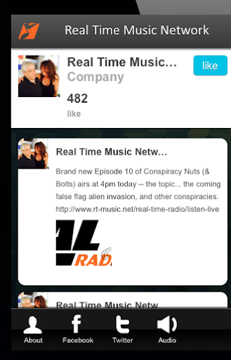Real Time Music Network