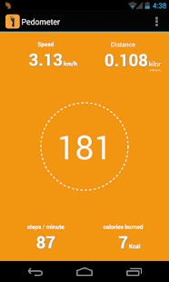Pedometer + Calories Counter - screenshot thumbnail