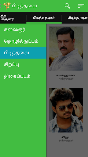 Tamil Awards - Kollywood