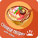 Chinese recipes dessert videos icon