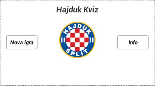 Hajduk Kviz