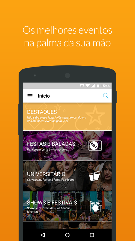 Ingresse - Ingressos e Eventos- screenshot