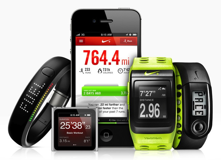 Nike+ devices 2012