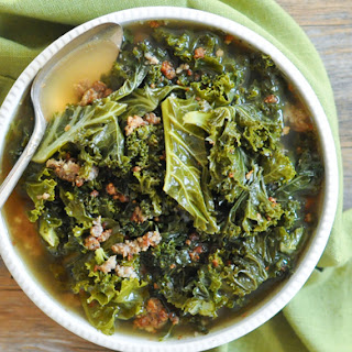 Quick and Hearty Sausage Kale Soup