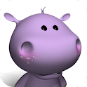 Talking Baby Hippo logo