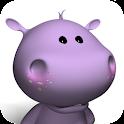 Talking Baby Hippo logo