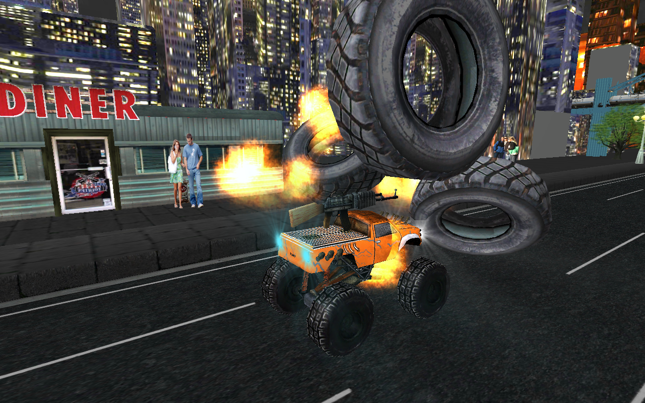 Monster Truck Fast Racing 3D- screenshot