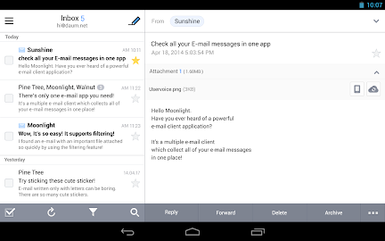 SolMail - All-in-One email app Screenshot 1