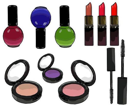 the makeup salon