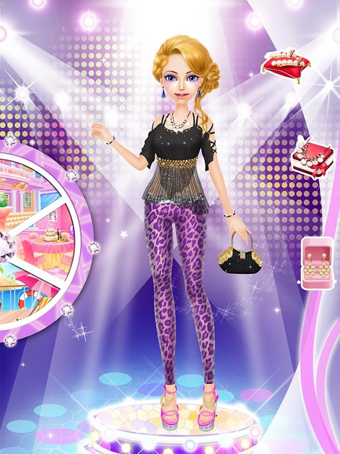 Fashion salon stage girl game android apps on google play Play new fashion style games