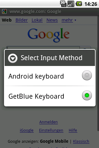 GetBlue Bluetooth Reader, Demo - screenshot
