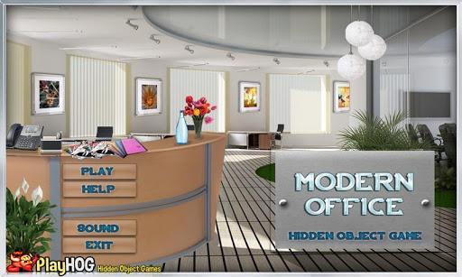 Modern Office - Hidden Objects