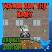 Watch out the baby zombie