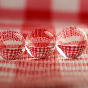 by Dipali S - Artistic Objects Other Objects ( red, check, color, colors, reflections, object, spheres, filter forge, landscape, refraction, portrait )