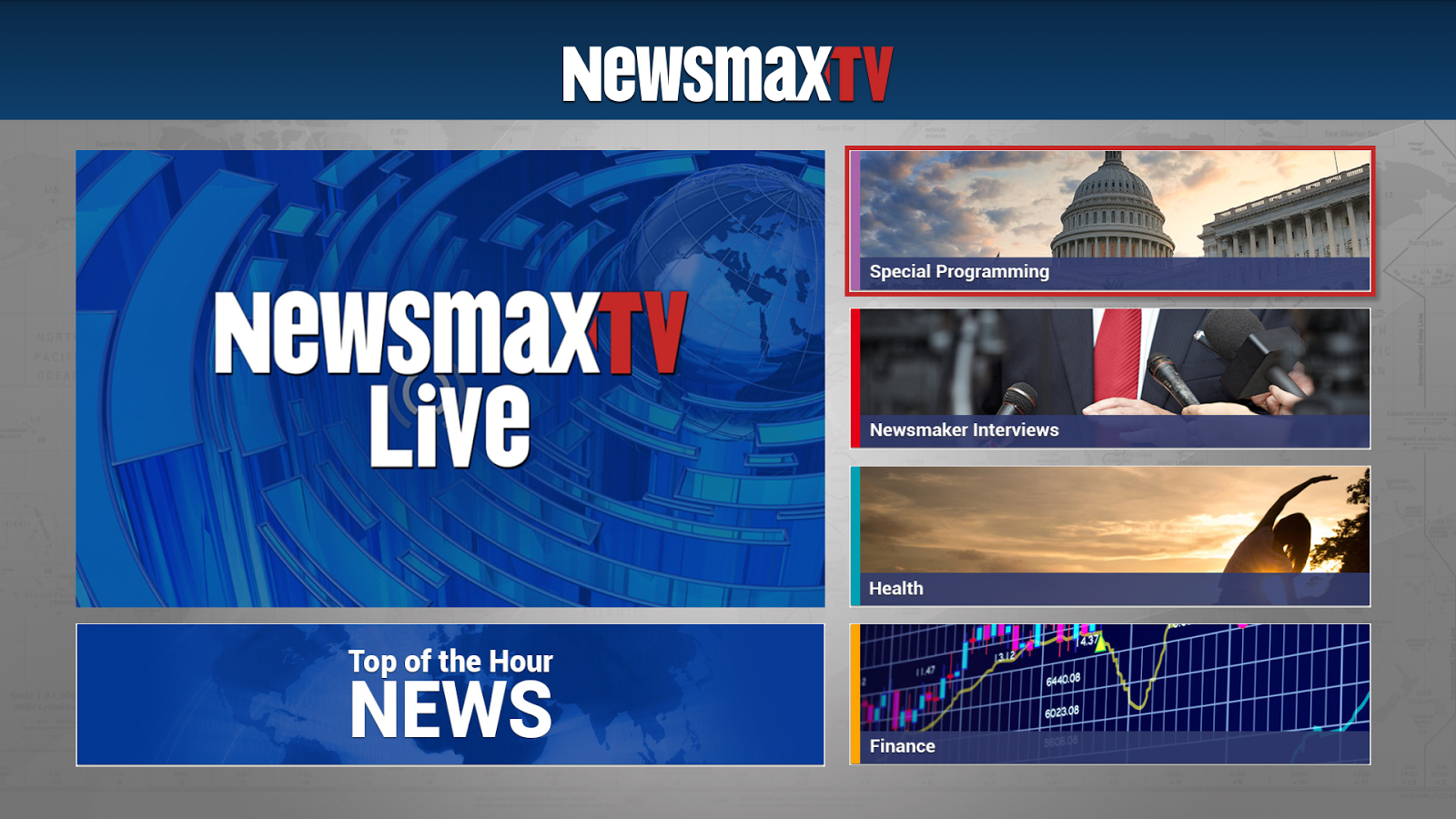 Newsmax TV - screenshot