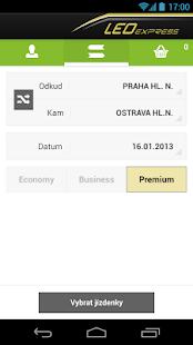 LEO Express Jízdenky - screenshot thumbnail