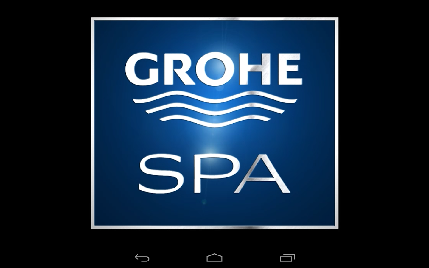 grohe spa f digital android apps on google play. Black Bedroom Furniture Sets. Home Design Ideas