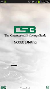 The Commercial & Savings Bank - screenshot thumbnail