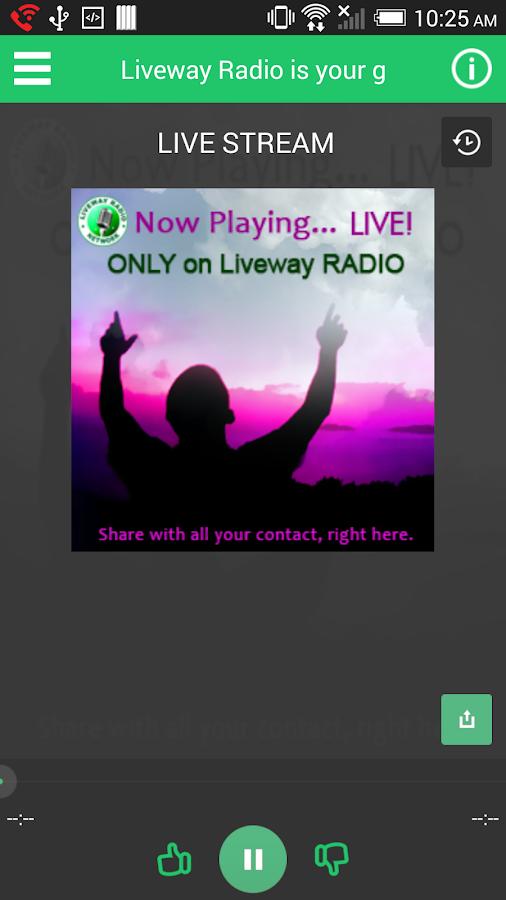 Liveway Radio Network - screenshot