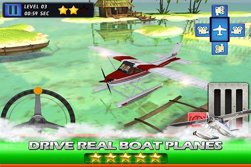 Sea Plane Pilot Parking Ace