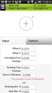 FSWizard Pro Machinist Calc- screenshot thumbnail