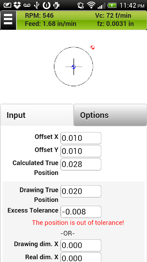 FSWizard Pro Machinist Calc- screenshot