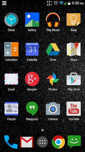 Black N Blue CM11 Theme v1.4