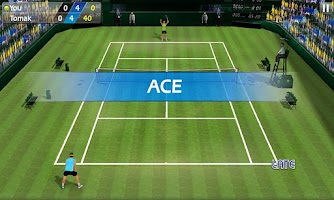 Screenshot of 3D Tennis