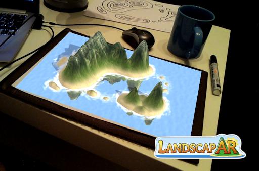 玩免費娛樂APP|下載LandscapAR augmented reality app不用錢|硬是要APP