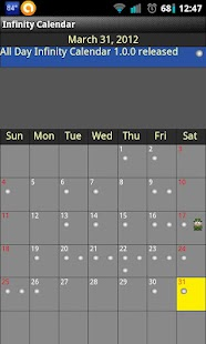 Infinity Calendar - screenshot thumbnail