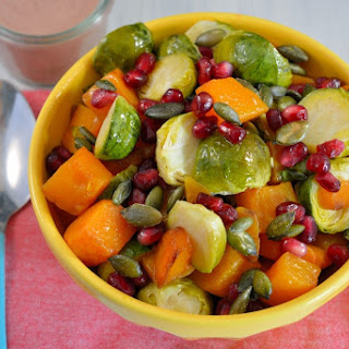 Brussels Sprout Salad with Roasted Jalapeno and Onion Dressing