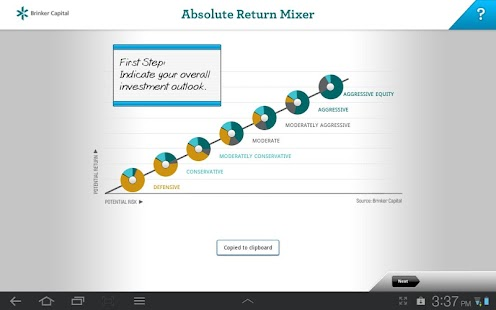Absolute Return Mixer - screenshot thumbnail
