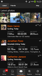 Sports Tracker Running Cycling - screenshot thumbnail