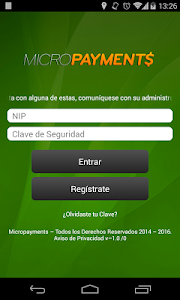 Micropayments screenshot 0