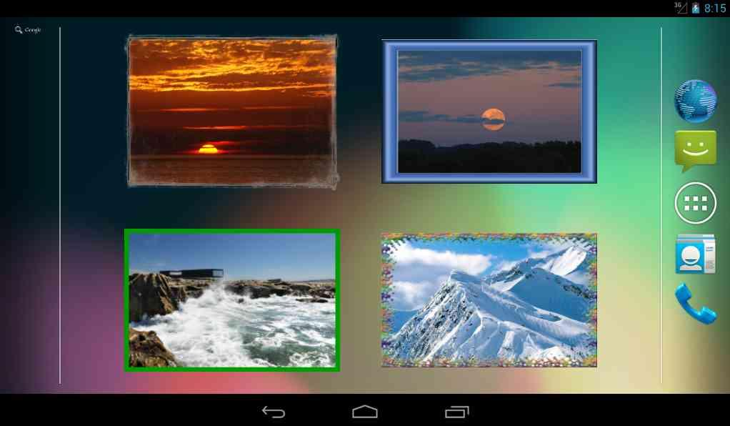 Photo Widget for Android - screenshot