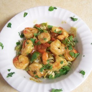Caribbean Pasta with Shrimp